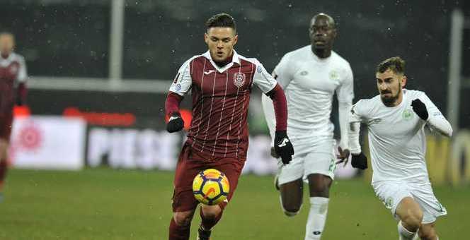CFR Cluj a câștigat cu FC Voluntari