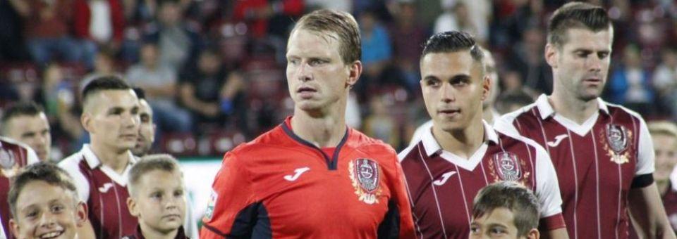 CFR Cluj va juca în Armenia fără Arlauskis și Omrani