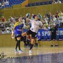 Handbal feminin: Universitatea Cluj, învinsă la limită de CSM Slatina