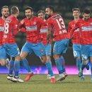 FCSB suflă în ceafa CFR Cluj. Bucureștenii s-au apropiat la trei puncte de lider
