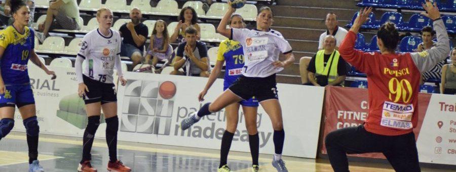 Handbal feminin: Universitatea Cluj joacă cu CSU Știința București în Cupa României
