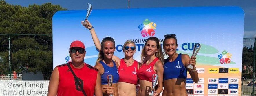 Echipa României de beach volley vrea la Olimpiada de la Tokyo