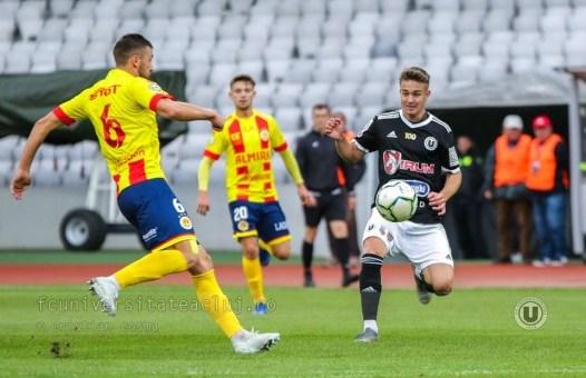 De ce a pierdut Universitatea Cluj meciul cu Farul Constanța