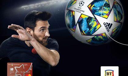 Leo Messi face reclamă Băncii Transilvania