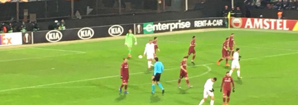 CFR Cluj, egal cu FC Sevilla