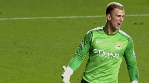 Joe Hart will return to the starting lineup for Man City
