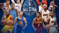 NBA East v West All-Star Starters Revealed
