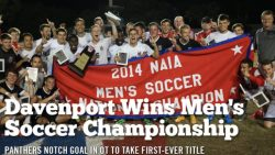 Davenport Beat Texas at Brownsville, Wins NAIA Men's Soccer