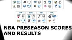 Scores and Recaps From NBA Preseason Games: Oct. 8
