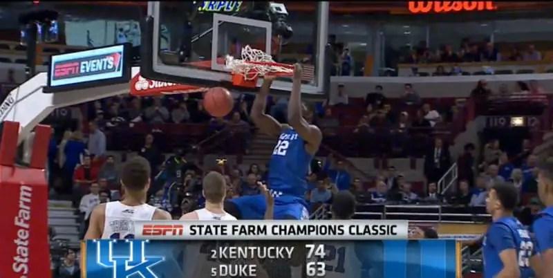 Ncaa Basketball News Scores Rankings: College Basketball Top 25 Scores On Nov. 17; Kentucky-Duke