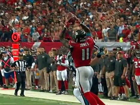 NFL Highlights: Falcons v Panthers Julio Jones