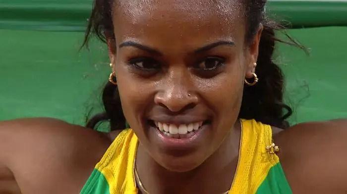 Genzebe Dibaba of Ethiopia