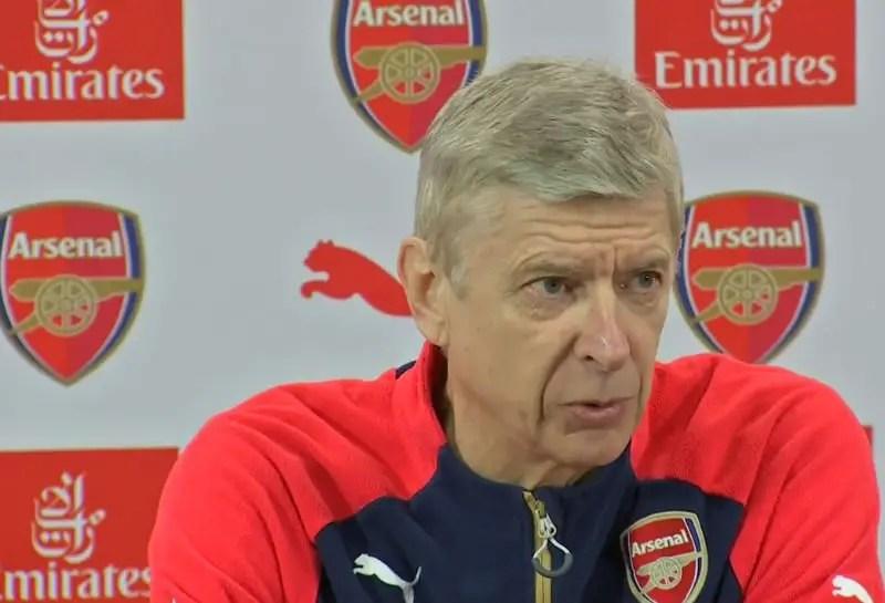 Arsenal Fixtures Premier League: Arsene Wenger