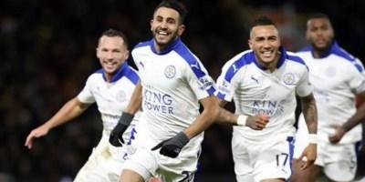 Riyadh Mahrez of Leicester in the Premier League