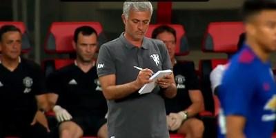 Jose Mourinho: manchester united