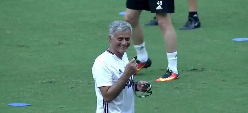 Jose Mourinho of Manchester United