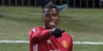 Manchester United star Pogba