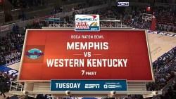 Watch Boca Raton Bowl: Memphis v Western Kentucky: Dec. 20