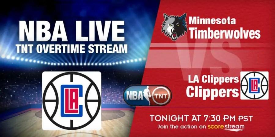 Live NBA on TNT Overtime