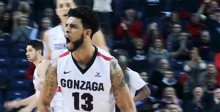 Gonzaga Bulldogs college basketball AP Top 25 Rankings