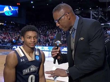 Junior Robinson: Mount St Mary's NCAA Tournament