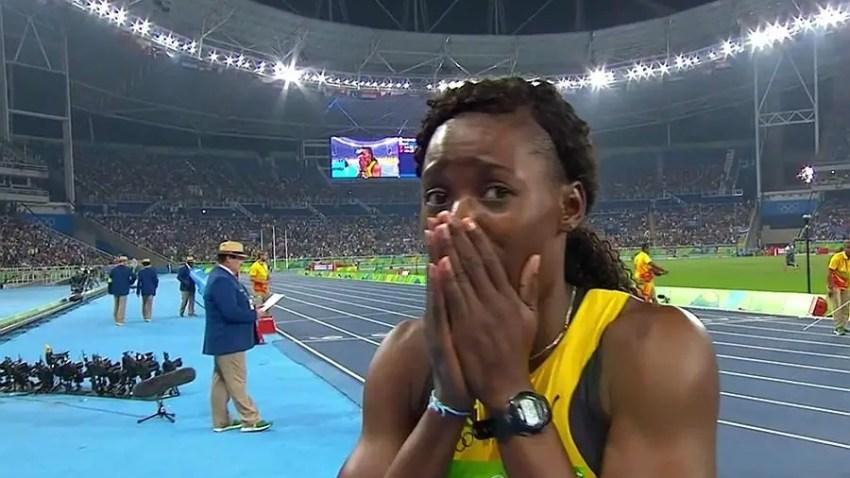 Shericka Jackson of Jamaica