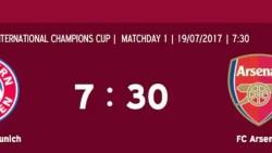 Bayern Munich v Arsenal International Champions Cup Live Stream