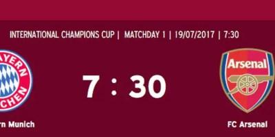 ESPN3: Bayern Munich v Arsenal