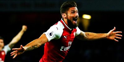 Arsenal beat Leicester City: Olivier Giroud