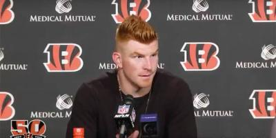 Andy Dalton of Bengals
