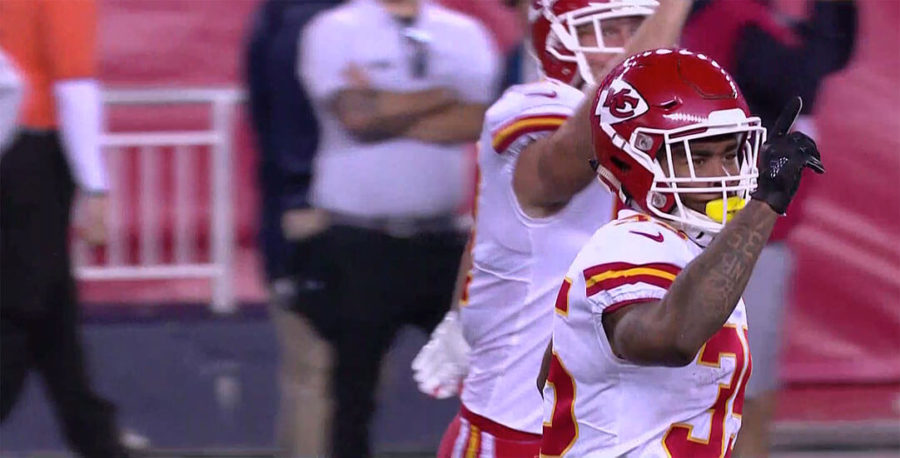 Kareem Hunt on the fumble: 'I just had to forget about it'