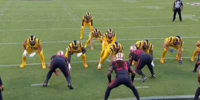 The Los Angele Rams v San Francisco 49ers