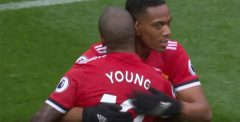 Young Brace Leads Manchester United Past Watford, 4-2