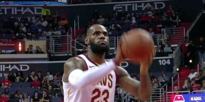 LeBron James of the Cavaliers