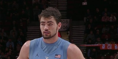 Luke Maye of North Carolina