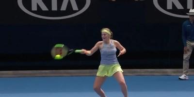 Jelena Ostapenko: Australia Open