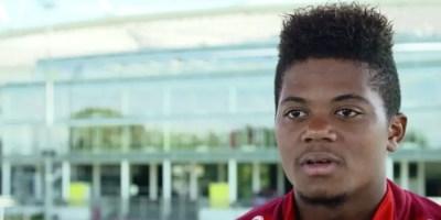 Leon Bailey of Bayer Leverkusen - German Bundesliga