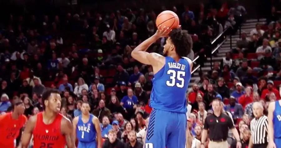 Duke's Marvin Bagley III makes a jumper