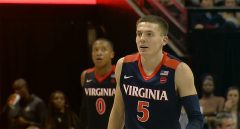 No. 2 Virginia Rallies To Hold Off Florida State, 59-51