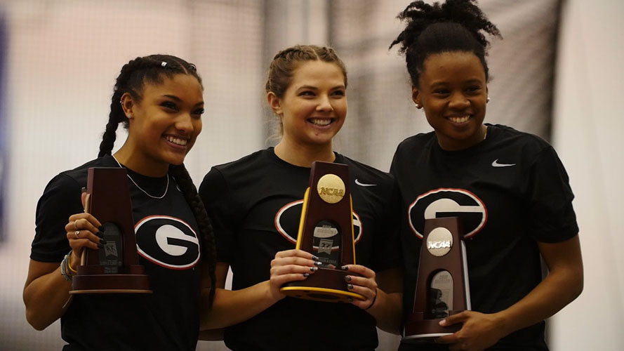 Huskies send three to indoor NCAA Championships