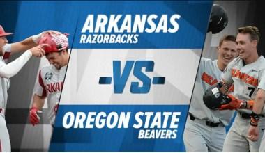 2018 College World Series Final Game 3:Oregon State v Arkansas