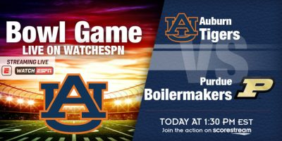 College football - College bowl Auburn v Purdue