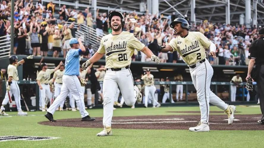 Vanderbilt at 2019 Baseball Regional