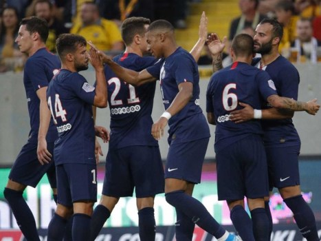 paris saint-germain v dynamo dresden friendly