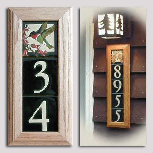 oak frame for ceramic tiles 4 x 4 maanum custom tiles