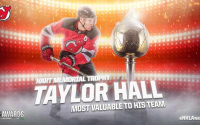 Taylor Hall Finally Vindicated With Hart Trophy Win