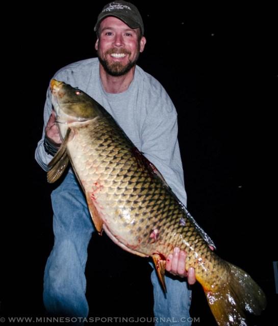 Bret with a 26lb carp