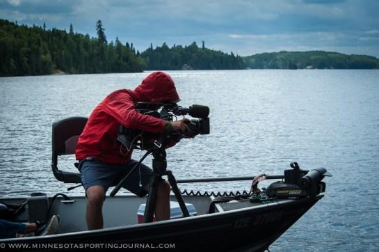 Cameraman Josh Bryant captures the moment.