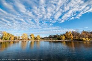 A fall day Lake Minnetonka