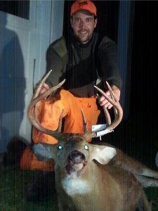 Brian Schumacher's opening day buck.